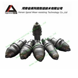 Round Shank Cutter Bits Conical Bits Foundation Drilling Tools Bullet Teeth Conical Bits pictures & photos