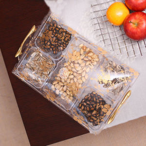 Fashion Four Grid Acrylic Candy Tray Gift Box pictures & photos