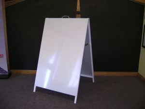 Metal Boards Frame Signs Sandwich Sidewalk Printed Posters Advertising Banner pictures & photos