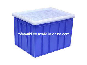 Crate with Lid Mould