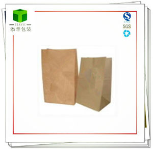 Brown Kraft Paper Bag for Food, Food Paper Bag pictures & photos