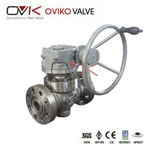ANSI Full Bore Flanged Trunnion Top Entry Ball Valve