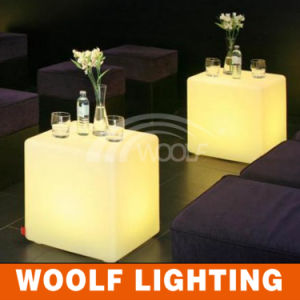 Outdoor Colorful LED Patio Garden Plastic Furniture pictures & photos