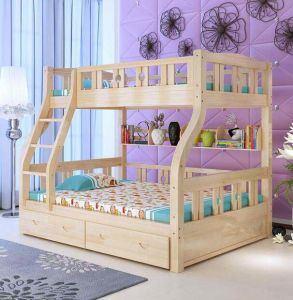 Solid Wooden Bed Room Bunk Beds Children Bunk Bed (M-X2211) pictures & photos