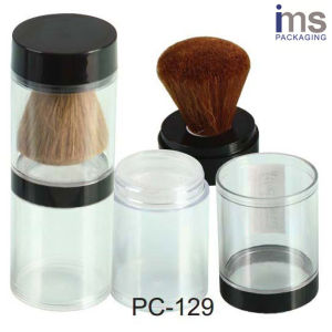 30ml Round Plastic Cosmetic Loose Powder Container pictures & photos