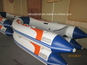 Liya 2m-3.6m PVC Inflatable Rubber Boat for Sale pictures & photos