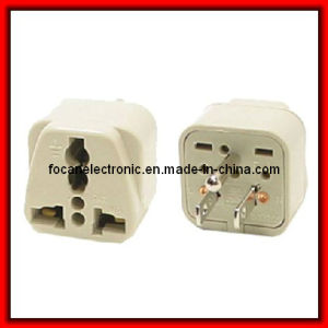 Grounded Universal Plug Adapter Type B for Japan, Us Plug pictures & photos