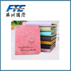 Hot New Popular Cheap Tourist Souvenir PU Leather Lady Wallet pictures & photos