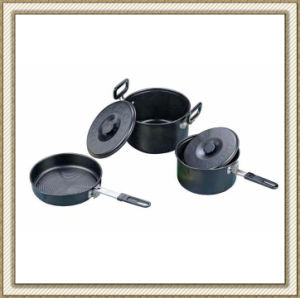 Camping Outdoor Cookerware Set Cl2c-Dt1911-3 pictures & photos