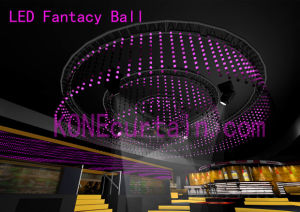 Kone-Changeable Fantasy Ball Curtain/ LED Fantasy Ball Series