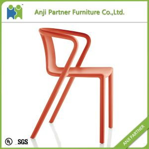 PP Fixed Abstractionism Design Orange and Black Dining Chair (Angela) pictures & photos