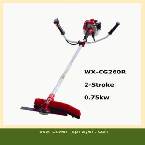 1HP 25.6cc 2-Stroke 0.75kw Portable Garden Tools Brush Cutter and Grass Trimmer pictures & photos