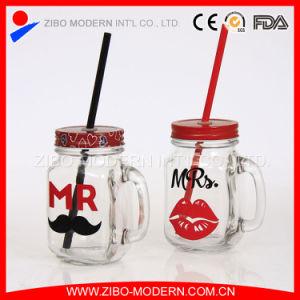 Wholesale Glass 16oz Mason Jar with Metal Lid pictures & photos