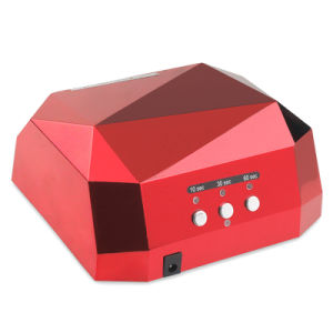 2017 Hot Sale LED Nail Lamp, LED Nail Dryer, Curing Nail Polish 18W/36W CCFL UV Gel Diamond Shaped Nail Dryers pictures & photos