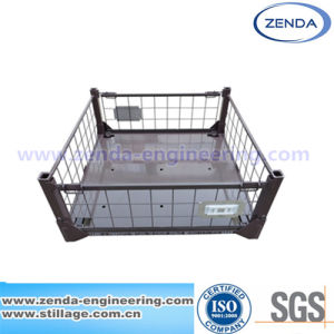 Stillage / Stillage Pallet Cage / Foldable Stillage / Metal Collapsible Pallet / Warehouse Steel Stillage / Logistic Stillage pictures & photos