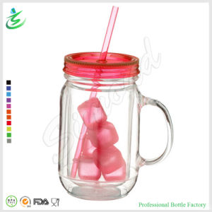 20 Oz Double Wall Mason Jar Tumbler with Ice Cube (MJ-A1) pictures & photos