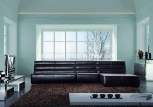Corner Leather Sofa (SBO-3996) pictures & photos