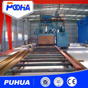 Steel Pipe Outer Wall Shot Blasting Cleaning Equipment Price pictures & photos