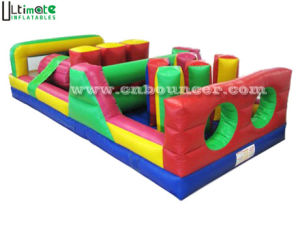 Hot Rainbow Inflatable Obstacle
