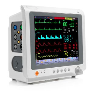 """10.4"""" Transport Transfer Emergency Patient Monitor, Touchscreen ICU or Modular Vital Signs Monitor FDA Certificate (SC-C50)"""