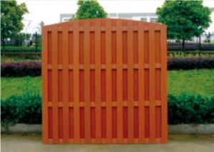 1800*1800 Cheap Outdoor Wood Plastic Composite WPC Fence pictures & photos