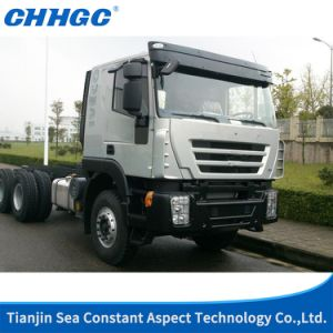 High Quality Saic Iveco Hongyan 400HP 6X4 40t Tractor Head /Truck Head /Tractor Truck of Light Version of Euro 3 pictures & photos