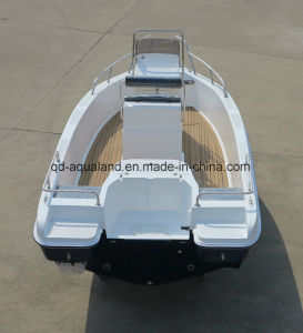 Aqualand 21feet 6.3m Fiberglass Fishing Boat/Speed Motor Boat/Sports Pleasure Boat (205c) pictures & photos