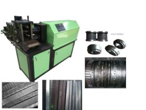 Wrought Iron Cold Rolling Embossing Machine/Iron Embossing Machine pictures & photos