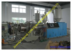 HDPE Pipe Production Line/PVC Pipe Production Line/HDPE Pipe Extrusion Line/PVC Pipe Production Line/PPR Pipe Production Line/PPR Pipe Extrusion Line pictures & photos