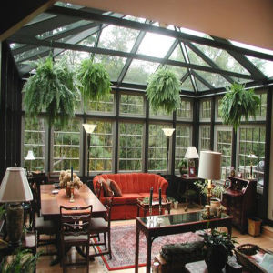 Aluminum Sun Room with Folding Conservatory Doors (TS-507) pictures & photos