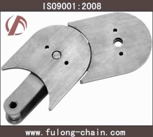 Stainless Steel Flat Top Conveyor Chain (TOS50SS, TOS50F1SS, TOS80SS) pictures & photos