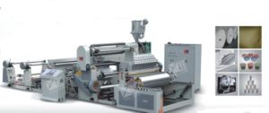 PE Extrusion Laminating Machine for Aluminum Foil (SJFM 1100-1800) pictures & photos