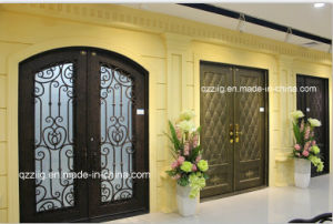 Wrought Iron Entry Door, Security Door