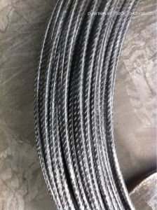 Cold Drawn Ribbed Wire /Ribbed Cold Drawn Wire W8f W10f pictures & photos