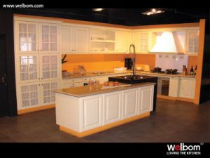 Welbom Best Sell PVC Kitchen Design pictures & photos