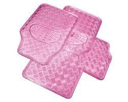 Pink Printed Car Flooring Mats, EVA PVC Foam Car Mats pictures & photos