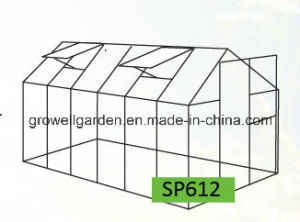 4mm Growell Walk -in Polycarbonate Greenhouses (6′ X 12′ SP612) pictures & photos