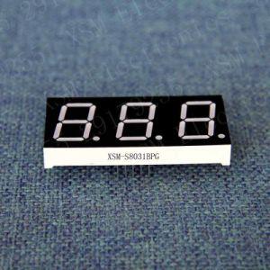 3 Digit 7 Segment LED Numeric Display