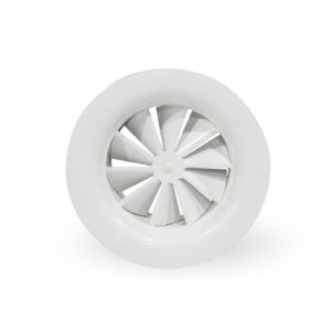 Round Swirl Ceiling Diffusers with Flat Frame and Fixed Blades pictures & photos