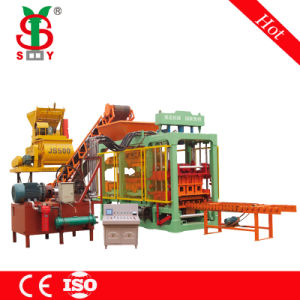Full Automatic Hydraulic Cement Brick Making Machine (QT6-15) Have Office in Nigeria, Tanzania, Algeria, Mozambique pictures & photos