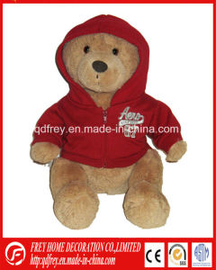 Plush Teddy Bear Toy with T-Shirt for Christmas Gift