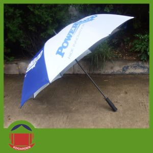 Top Quality Mazda Golf Umbrella with One Panel Printing pictures & photos