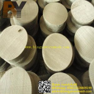 Wire Mesh Filter Disc pictures & photos