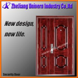 Steel Door Single Leaf Door Cold-Rolled Steel Security Door pictures & photos