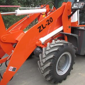 Wheel Loader Zl20 with Grass Bucket pictures & photos