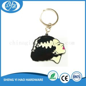 Double Sides Soft Enamel 3D Metal Keychains for Sales pictures & photos