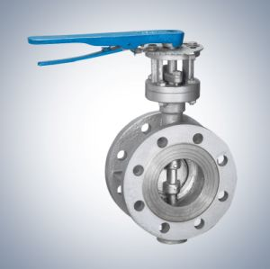 Manual Flange Butterfly Valve Dn40~Dn250 pictures & photos