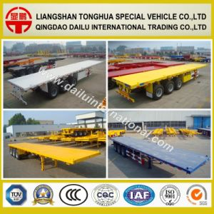 3 Axles 40FT Container Trailer Semi Trailer on Promotion pictures & photos