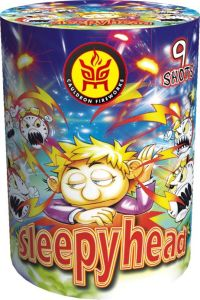 8s Sleepyhead (KL0809) Cake Fireworks