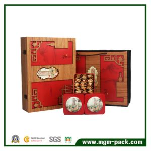 Promotional Customized Unique Carved Wooden Tea Box pictures & photos